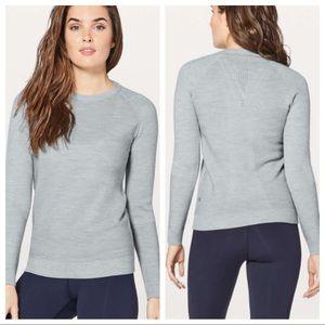 Lululemon Simply Wool Sweater Heathered Starlight